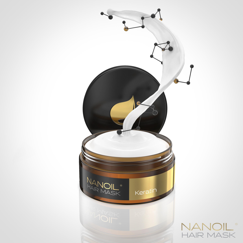 Keratin Haarmasken Nanoil
